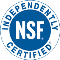 NSF Indepenently Certified