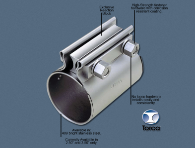 TC-Series Torca Exhaust Coupler